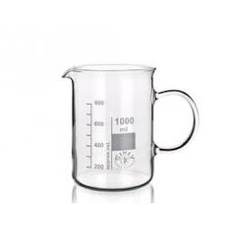 Vaso de vidrio graduado 50 ml