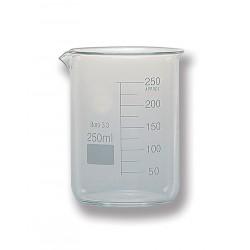 Vaso de vidrio LAN glass  graduado forma baja
