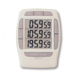 Reloj avisador Digital Triple