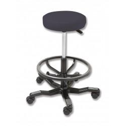 Silla sin respaldo y asiento redondo 350 mm Ø
