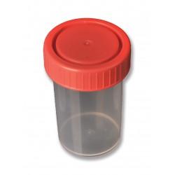 Contenedores de muestras de 60 ml tapa rosca